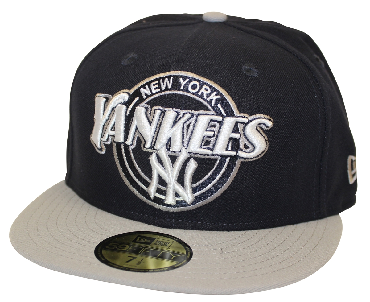 6aa8f4a82cf New Era 59Fifty Custom Closer New York Yankees Navy Gray Fitted ...