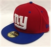 New Era 59Fifty 2Tone New York Giants Red & Blue Fitted Cap