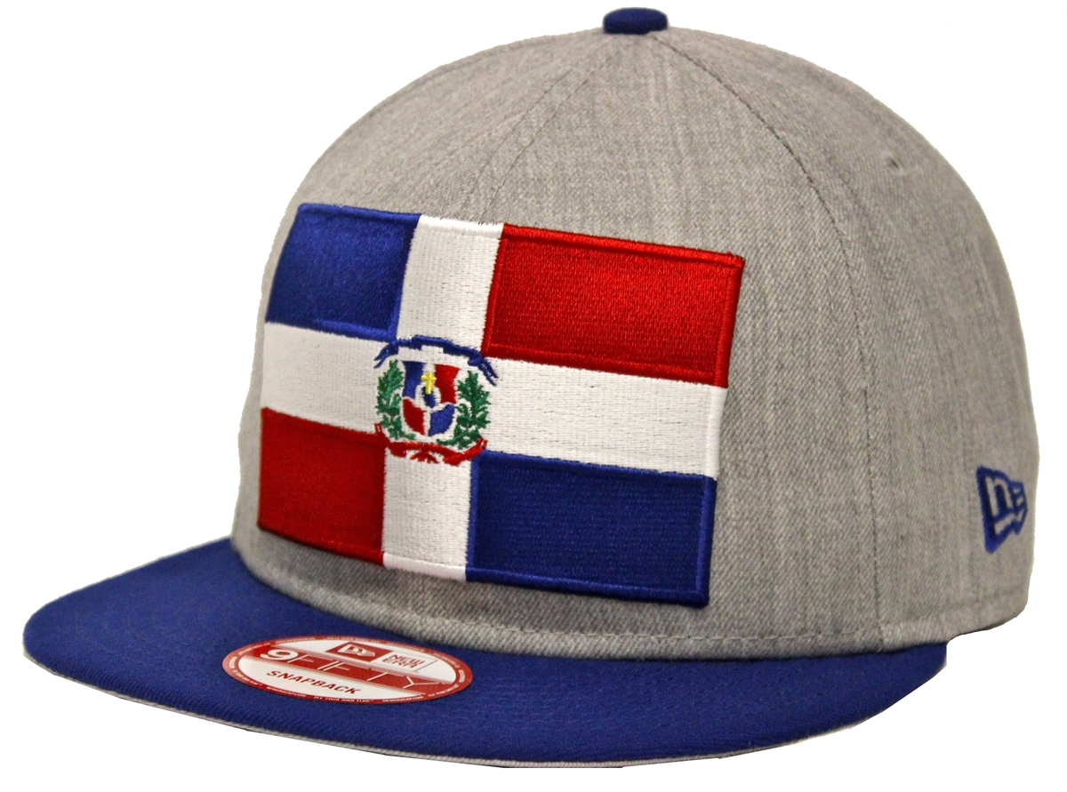 New Era 9Fifty Heather Grand Dominican Republic Snapback b197ecd7f996