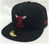 New Era 59Fifty HWC Basic Chicago Bulls Black Fitted Cap