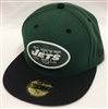 New Era 59Fifty 2Tone New York Jets Green & Black Fitted Cap