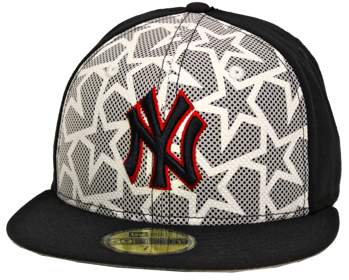 New Era 59Fifty July 4th New York Yankees Navy White Fitted Cap 78e55b779b6