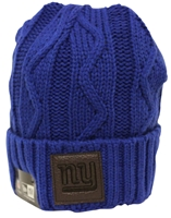 New Era Team Ohana New York Giants Blue Beanie