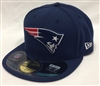 New Era 59Fifty New England Patriots Onfield Navy Fitted Cap