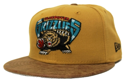 New Era 59Fifty Rustic Vize Vancouver Grizzlies Two Tone Wheat Fitted Cap