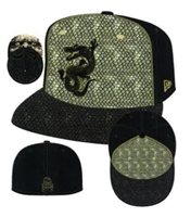 New Era 59Fifty Suicide Squad Character Face Killer Croc Fitted Cap