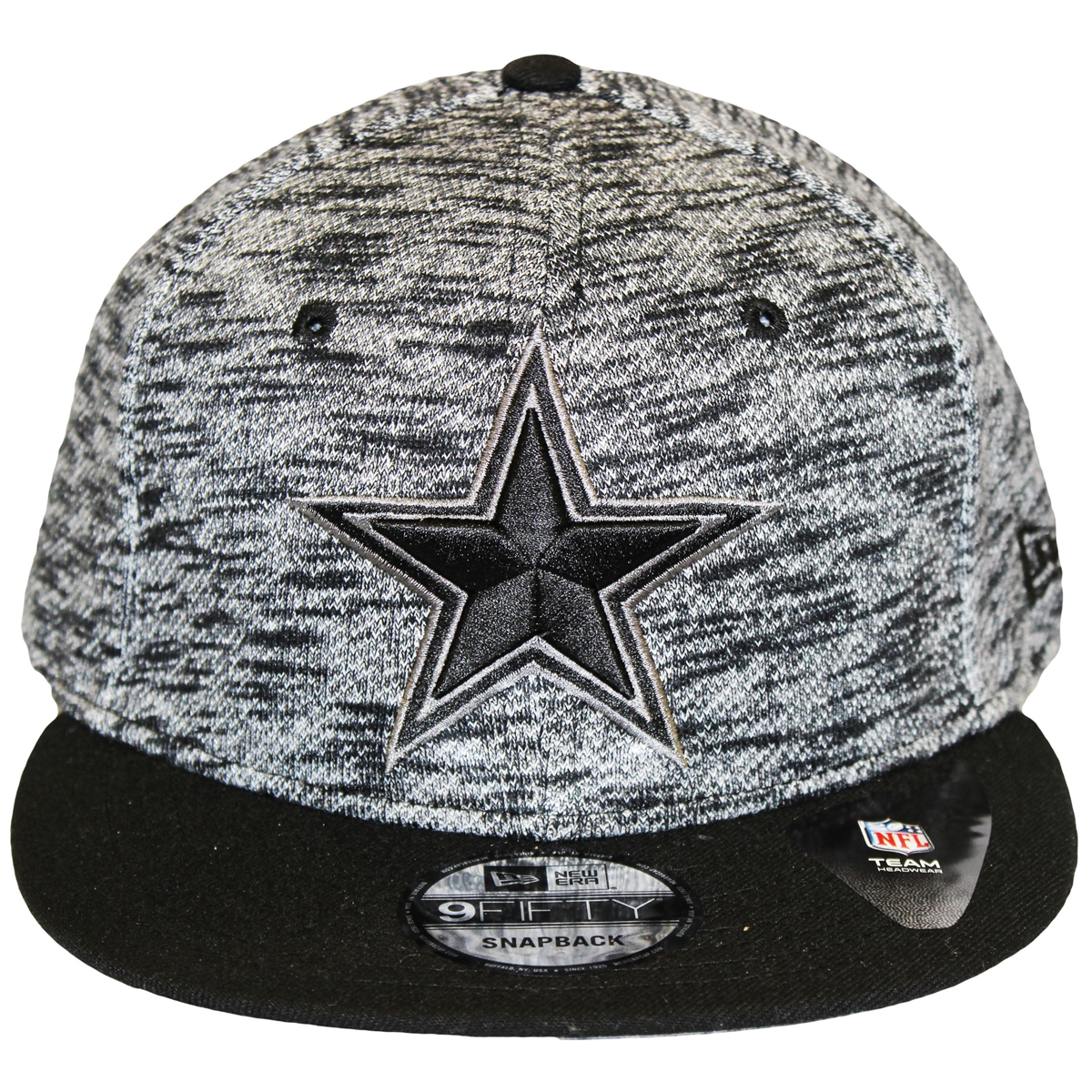 0f737d5105d ... ireland ne 9fifty terry fresh dallas cowboys gray black snapback hat  nfl 3 d raised star