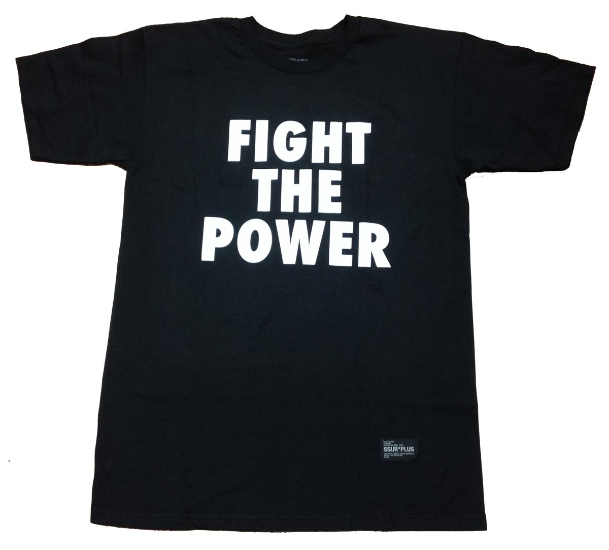 black SSUR PLUS Power Tee