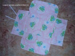 Large Flannel Sterilization Pouch - Birth Kit