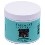 Organic Cocoa Butter (Refined) - 4 ounces