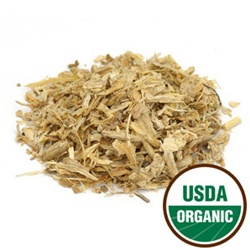 Organic Angelica Root, Cut and Sifted