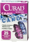 Curad Flex-Fabric Camp Camo Design Band Aids