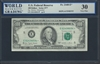 U.S. Federal Reserve, Fr. 2168-E*, Replacement Note, 100 Dollars, Series 1977 Signatures: Morton/Blumenthal 30 Very Fine