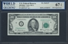 U.S. Federal Reserve, Fr. 2163-I*, Replacement Note, 100 Dollars, Series 1963 A Signatures: Granahan/Fowler 67 UNC Superb Gem