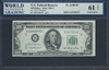 U.S. Federal Reserve, Fr. 2158-B*, Replacement Note, 100 Dollars, Series 1950 A Signatures: Priest/Humphrey 61 TOP Uncirculated