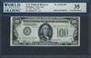 U.S. Federal Reserve, Fr. 2152a-H*, Replacement Note, 100 Dollars, Series 1934 Signatures: Julian/Morgenthau 35 Very Fine Choice