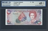 Cayman Islands, P-18b, Experimental Paper, 10 Dollars, 1996 Signatures: G.A. McCarthy 45 TOP Extremely Fine Choice