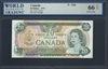 Canada, P-093b, 20 Dollars, 1979 Signatures: Crow/Bouey 66 TOP UNC Gem