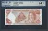 Cayman Islands, P-11a, 100 Dollars, 1974 (1982) Signatures: V.G. Johnson 64 TOP UNC Choice
