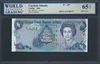 Cayman Islands, P-33*, Replacement Note, 1 Dollar, 2006 Signatures: Jefferson/Scotland 65 TOP UNC Gem
