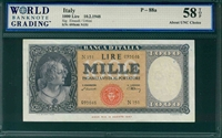 Italy, P-088a, 1000 Lire, 10.2.1948, Signatures: Einaudi/Urbini,  58 TOP About UNC Choice
