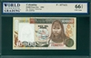Colombia, P-437A(1), 10,000 Pesos Oro, 1993, Signatures: Montoya/Saldarriaga,  66 TOP UNC Gem
