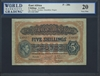 East Africa, P-28b, 5 Shillings, 1.1.1952, Signatures: Downie/Kershaw/Bourdillon/Rogers, 20 Very Fine