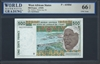 West African States, P-410Dd, 500 Francs, (19)94, Signatures: Kabore/Banny (sig. 26), 66 TOP UNC Gem