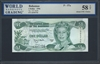 Bahamas, P-57a, 1 Dollar, 1996, Signatures: J.H. Smith, 58 TOP About UNC Choice