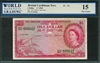 British Caribbean Territory, P-07c, 1 Dollar, 1.7.1960, Signatures: Tub/Reece/Burrowes, 15 Fine Choice