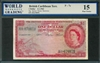 British Caribbean Territory, P-07c, 1 Dollar, 2.1.1962, Signatures: Spence/Reece/Burrowes, 15 Fine Choice