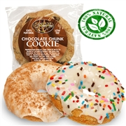 LOW FAT COOKIE-FAT FREE DONUT COMBO