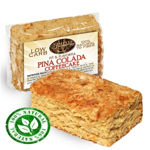 Fit & Flavorful Low Carb Fat Free Coffee Cake