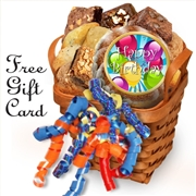 Happy Birthday Muffin Gift Basket