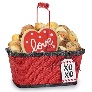 Dozens of Delights Valentine Gift Basket