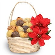 Holiday Floral Muffin Gift Basket