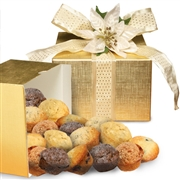 Holiday Muffin Golden Gift Box
