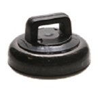 Mag Daddy 62411 Magnetic Tie Mount Black