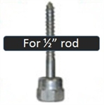 "GST 2 Sammy Screw Wood 1/2"" Rod"