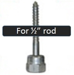 "GST 3 Sammy Screw Wood 1/2"" Rod"