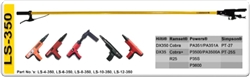 8' LS350-6 Pole Tool For Hilti DX350, Ramset Cobra