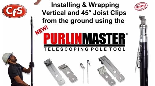 Pmg12 Purlin Master 4 12 Purlin Clip Install Tool