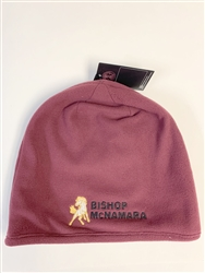 Maroon Under Armour Skull Cap