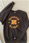 Alumni Black Crew Neck Sweatshirt