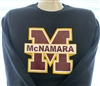 Black Big M Sweatshirt