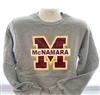 Gray Big M Sweatshirt