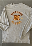 Alumni Long Sleeve Gray T Shirt