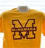 Big M Gold T Shirt