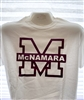 Big M White T Shirt