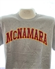 Short Sleeve Gray McNamara T Shirt